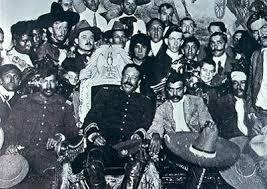 emiliano zapata and pancho villa. Pancho Villa In The Chair With Emiliano Zapata And
