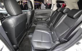 Mitsubishi Outlander PHEV rear seat room | Mitsubishi Outlander ...