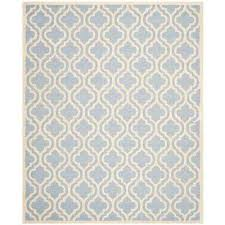 cambridge light blue ivory 11 ft x 15 ft area rug