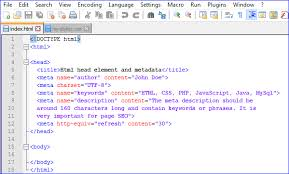Html Head Element And Metadata: Html Web Development Tutorial Series