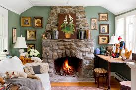 old fireplace ideas living room farmhouse with low ceiling polyester in decor 12