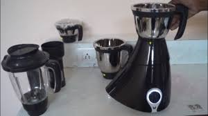Butterfly Kitchen Appliances Butterfly Matchless 4 Four Jar Mixer Grinder Unboxing Demo