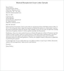 Cover Letter Examples Receptionist Cover Letter Examples Receptionist Receptionist Cover Letter
