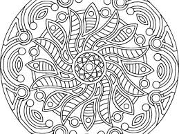 Free Coloring Pages Adults Mandala Free Printable Mandalas Coloring
