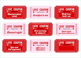 Useful Love Coupon Template Microsoft Word Of Free Printable Love