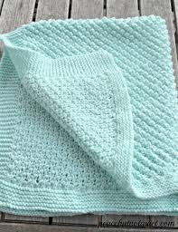 Knitted Baby Blanket Patterns For Beginners