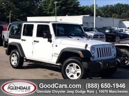used 2018 jeep wrangler unlimited sport 4x4 jk in glendale mo