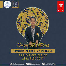 """ALSA LC UNPAD on Twitter: """"We would like to congratulate Timothy ..."""