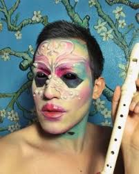 makeup inspired by björk new al utopia isshehungry silicone drawing inspired by james t merry