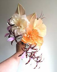Design Sponge Paper Flowers Diy Paper Spider Orchids Design Sponge