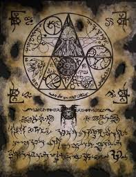 fragment of occult tome