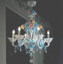 blue and gold classic murano glass chandelier da ponte italian regarding italian glass chandeliers
