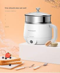 <b>Multifunctional</b> Electric Hot Pot Electric Food Steamer Heating Cup ...