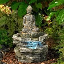 garden buddha statues. Amazon.com : Sitting Buddha 21\ Garden Statues E