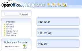 Open Officetemplates Useful Free Open Office Templates To Make You More Productive