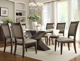 glass round kitchen table design