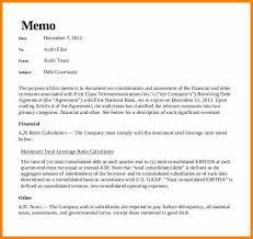 Memo Report Sample 8 Examples Of Memorandum Report West Of Roanoke