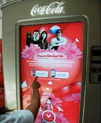 Coca Cola Touch Screen Vending Machine Beauteous The Coca Cola Company