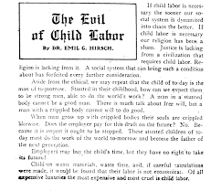 the source child labor illinois helped to newsletter