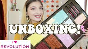 i heart revolution 2018 chocolate vault unboxing kezziescorner
