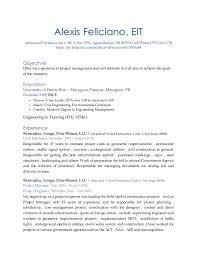 Company Resume Delectable Alexis Feliciano Resume R