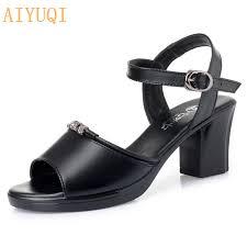 <b>AIYUQI Sandals women</b> new design 2019 new fashion <b>women</b> high ...