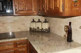 giallo ornamental granite countertop crema marfil backsplashtraditional kitchen austin