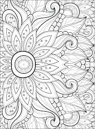 Coloring Pages Flower 488websitedesigncom