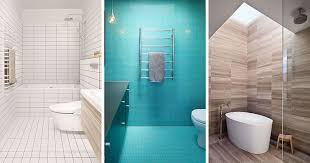 modern bathroom tile design. Perfect Tile Bathroom Tile Idea  Use The Same On Floors And Walls With Modern Design