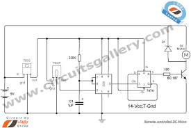 remote controlled dc motor for toy car circuit diagram circuits remote controlled motor circuit