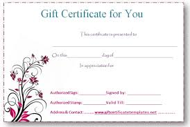 Gift Voucher Free Template Free Business Gift Certificates Templates Free Editable Gift