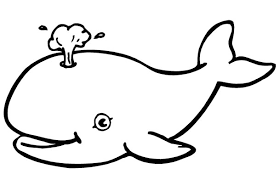 Small Picture Free Coloring Pages Of Whale Fish Whale Coloring Page Gianfredanet