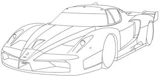 Small Picture Ferrari FXX coloring page Free Printable Coloring Pages