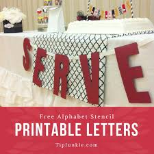 Coloring the alphabet is a good way to introduce the youngest learners to letters of the alphabet through an activity they like. Free Printable Alphabet Letters To Make Custom Signs Block Font Tip Junkie