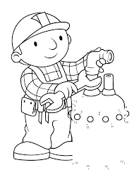Small Picture Bob The Builder Coloring Pages 10 Bob The Builder Kids Coloring