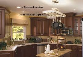 Lighting Options For Kitchens Kitchen Lighting Recessed Lighting In Kitchen Living Room