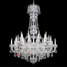 schonbek 6861 olde world 43lt swarovski crystal ceiling chandelier