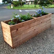 Large Wooden Boxes To Decorate Decoration Wood Planter Box Ideas Large Outdoor Planters' Fence 39