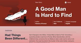 A Good Man Is Hard To Find Quotes Course Hero Stunning Quotes About Good Men