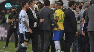 واقعة 'مثيرة'.. السلطات البرازيلية تقتحم مباراة الأرجنتين والبرازيل وتوقفها