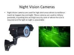 closed circuit television cctv night vision cameras