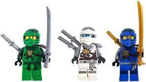 LEGO Ninjago Set of 3 Figures - Jay, Lloyd and Zane (Day of Memories) - in  Gift Box: Amazon.de: Toys & Games