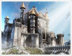 Castle Building And Remodeling Decor Painting