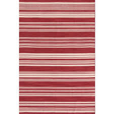 dash and albert cottage stripe rug