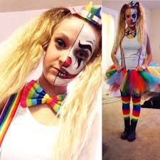 Amazing My DIY Cute But Scary Clown Costume!! ❤ HAPPY HALLOWEEN!