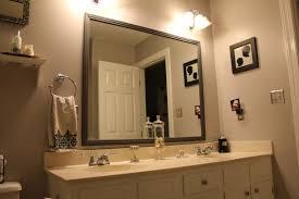 Bathroom Mirror Frame Plush Design Ideas Lowes Bathroom Mirror Frame Kit Mirrors 36 X 30