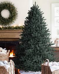Classic Blue Spruce Narrow Artificial Christmas Tree  Balsam HillArtificial Blue Spruce Christmas Tree