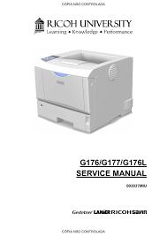 Ricoh Aficio Sp 4110n Service Manual Manualzz Com