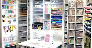 craft closet this craft closet is a creative neat freak s dream come true craft closet craft closet 3 diy craft closet organization