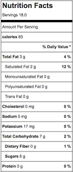 irish cream nutritional information homemade baileys